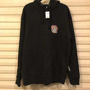New volcom hoodie size large